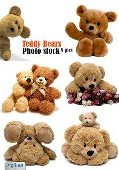 Teddy Bears Photo Stock - Gấu Bông - Free Fotolia - RGB Plus - Free Stock For Design & Multimedia