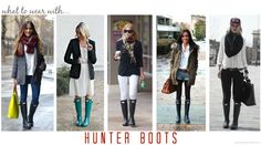 Amanda Macy Hall What to Wear With Hunter Boots