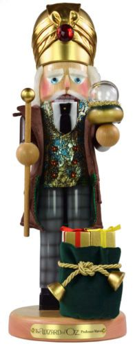 Steinbach Wizard of Oz Professor Marvel Nutcracker