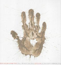 Richard Long, River Avon Mud Hand Print 2006
