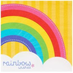 Don't miss out on our Rainbow Birthday party supplies! You can throw her a Rainbow Birthday party that is out of this world! Birthday Express will provide you with all the materials you need to make it happen. Rainbow Parties, Rainbow Birthday Party, Rainbow Theme, 5th Birthday, Rainbow Cakes, Birthday Parties, Rainbow Wedding, Rainbow Colors, Novelty Birthday Cakes