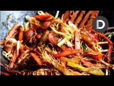 Nouilles Singapore...un sauté de poulet parfait - Recettes - Ma Fourchette