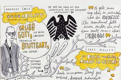 News / Taking Note: Sketchbook reportage from TYPO Berlin  / étapes: international
