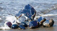 Ámbar azul. Mar Báltico. Www.geologyin.com