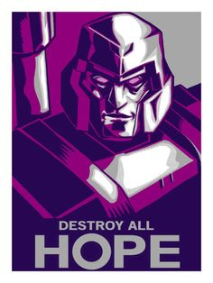 'Destroy All Hope' comic book Poster by Tim Doyle.