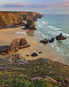 The Bedruthan Steps, St Eval, Cornwall