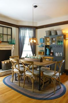 This rental may be situated in a bustling American city, but based on its cozy, rustic feel and charm you would never guess it was anything but a bona fide farmhouse.
