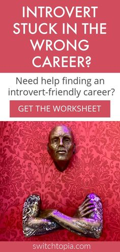 Are you an introvert stuck in the wrong career? Scrolling through introvert career lists with no success? Check out this blog post plus get the Introvert Dream Career Worksheet.