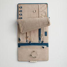 leather jewelry portfolio