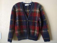 vintage Evan Picone cardigan/sweater medium by june22nd on Etsy, $28.00