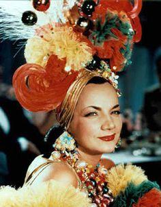 Carmen Miranda makeup dollface 1946