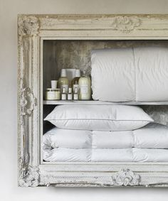 Frette Dreaming: Frette's bed sheets and covers promise unparalleled comfort, but fro the finest night's sleep, the Frette collection of duvets, pillows and mattress toppers can turn your bed into the cosiest of nests. Each piece is made only from the finest fibres and feathers and of course artisan-crafted in Italy.