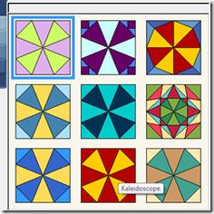 Make your own Kaleidoscope blocks Tutorial Tuesday (Beaquilter)