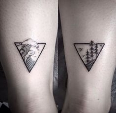 tattoo and nature image