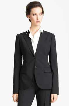 Dolce Stretch Wool Blazer available at #Nordstrom