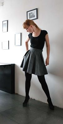 DIY tutorial for a darling pair of culottes (yes, culottes!) using a modified 1/2 circle skirt