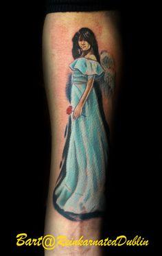 An angel Angel, Tattoos, Artist, Design, Tatuajes, Angels, Tattoo, Artists, Japanese Tattoos