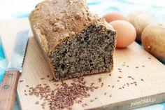 Chleb paleo (z ziemniaków i lnu) • PaleoSMAK
