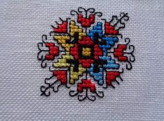 Wedding Day Timeline, Folk Embroidery, Bulgarian, Mandala, Cross Stitch, Brooch, Crafts, Embroidery, Punto De Cruz