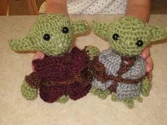 Ravelry: Little Yoda Crochet Tutorial pattern by Happy Together