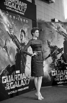 'Guardians of the Galaxy' Hollywood Premiere - Karen Gillan