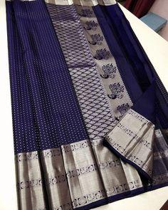 Nalli Silk Sarees, Nalli Silks, Pure Silk Sarees, South Indian Wedding Saree, Saree Wedding, Indian Outfits, Indian Clothes, Ethinic Wear, Purple Saree