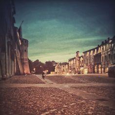 Impressioni al crepuscolo..Piazza del Popolo, #Cesena - Instagram by perryloves17