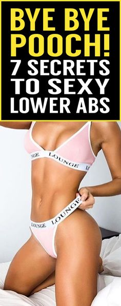 Stuck with stubborn pooch fat? Try these 7 secret tips that will help you lower your belly fat without spending hours and hours in the gym!