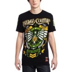 Xtreme Couture Men's Glide Short-Sleeves Tee (Apparel)  http://www.amazon.com/dp/B005LDA99I/?tag=goandtalk-20  B005LDA99I