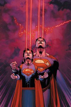 """#Superman #Fan #Art. (DC Universe Rebirth Superman. """"Son of Superman"""" Vol.4#6 Cover) By: Doug Mahnke & Wil Quintana. (THE * 5 * STÅR * ÅWARD * OF: * AW YEAH, IT'S MAJOR ÅWESOMENESS!!!™)[THANK U 4 PINNING!!!<·><]<©>ÅÅÅ+(OB4E)"""