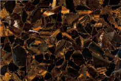 Tiger Eye Gold Countertops - The natural contrast provided by brown and gold tones are coupled with gorgeous reflective qualities, creating an alluring countertop that is easy to fall in love with. Wild Tiger, Natural Stones, Eyes, Wood, Nature, Image, Bathroom Countertops, Design, Contrast