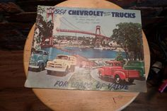 1954 Chevrolet Truck Brochure ,Pickup Panel Stake Sedan Delivery Suburban, Vintage Chevy Advertisement by Morethebuckles on Etsy