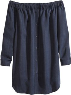Pin for Later: Der heißeste Ausschnitt, den ihr bis jetzt vielleicht noch nicht getragen habt H&M Off-the-Shoulder Kleid H&M Lyocell Dress ($60)