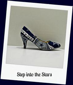 "Cowboys ""Step into the Stars"" heel"