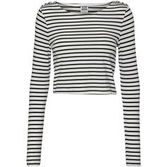 08fe0c8c3dc6b4 Vero Moda Cropped Long Sleeved Blouse (17 AUD) found on Polyvore Shirt  Bluser