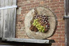 Voll im Trend: cijfers met de natuur! Het seminar Naturwerkstatt in Frühling Deco Floral, Floral Design, Moss Art, Petal Pushers, Advent Wreath, Garden Art, Paper Flowers, Floral Arrangements, Fall Decor