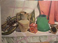 Strumenti musicali con brocca - Luigi Abbiati, febbraio 2015