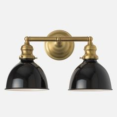 Master Bathroom - Montclair Wall Sconce Light Fixture | Schoolhouse Electric & Supply Co.
