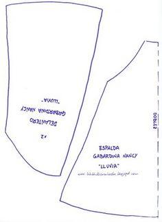 Patrón Gabardina Nancy ( LLuvia)