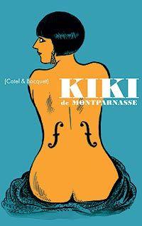 """Portada del libro """"Kiki de Montparnasse"""" (Sinsentido), de Catel y Bocquet"""