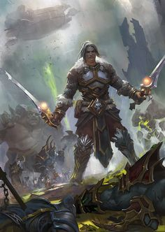 Varian Wrynn - World of Warcraft |  zippo514 on DeviantArt