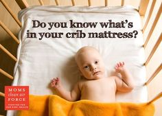 Wondering where to buy a chemical free crib mattress? Click through for a few brands that have made a good faith effort to eliminate toxic chemicals.