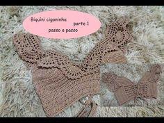 2012 work in progress: Di tutto un po'. Crochet Bra, Crochet Shorts, Crochet Crop Top, Crochet Diagram, Crochet Granny, Free Crochet, Crop Top Pattern, Bikini Pattern, Knitting Patterns