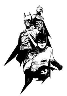 Batman - Generations by LRitchieART