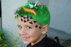 Styling boys' hair is not as easy as you think it is. Here are 30 crazy hair ideas for boys.