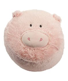 Take a look at this Pink Pig Stool by Just Pretend Kids on #zulily today!