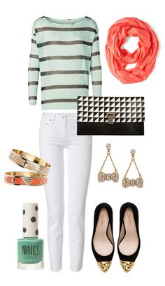 Spring Mint + Coral