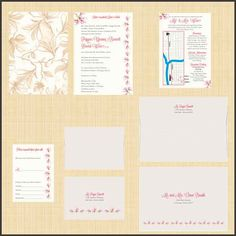 Wedding Invitations for Fall 2013, Blush Wedding Invitations, Flowery Wedding Invitations