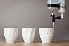 Spatial Design Studio Unfold's Reprap and Ceramic 3d Printing blog