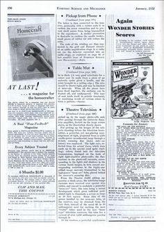 Television in the Theatre At Last! (Jan, 1932) [2/3]